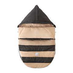 7 AM Enfant black beige bee pod